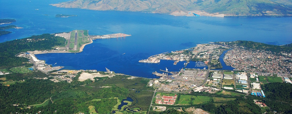 Subic Bay Arial