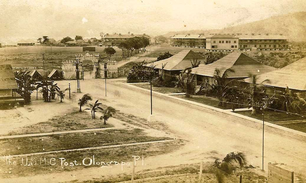 Spanish Gate during the relocation of Olongapo City