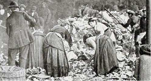 1751 England Cleaning the city