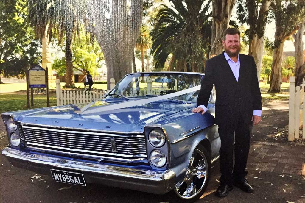 1965 Ford Galaxie 500 LTD with owner Steve Eggers