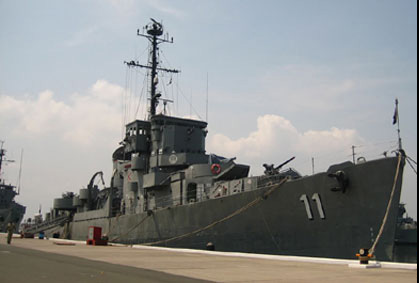 BRP Rajah Humabon at Rivera pier Subic Bay