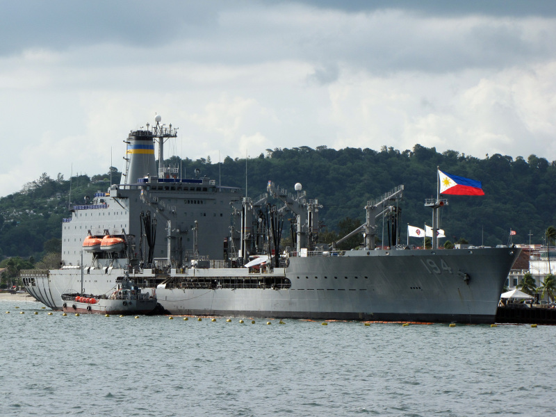 USNS John Ericsson at Alava Pier Subic Bay