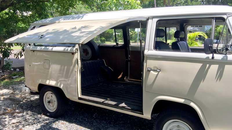 VW Kombi - Gull Wing Door