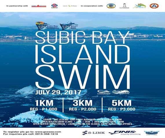 Invitational Swim of 1km, 3km, and 5km distances