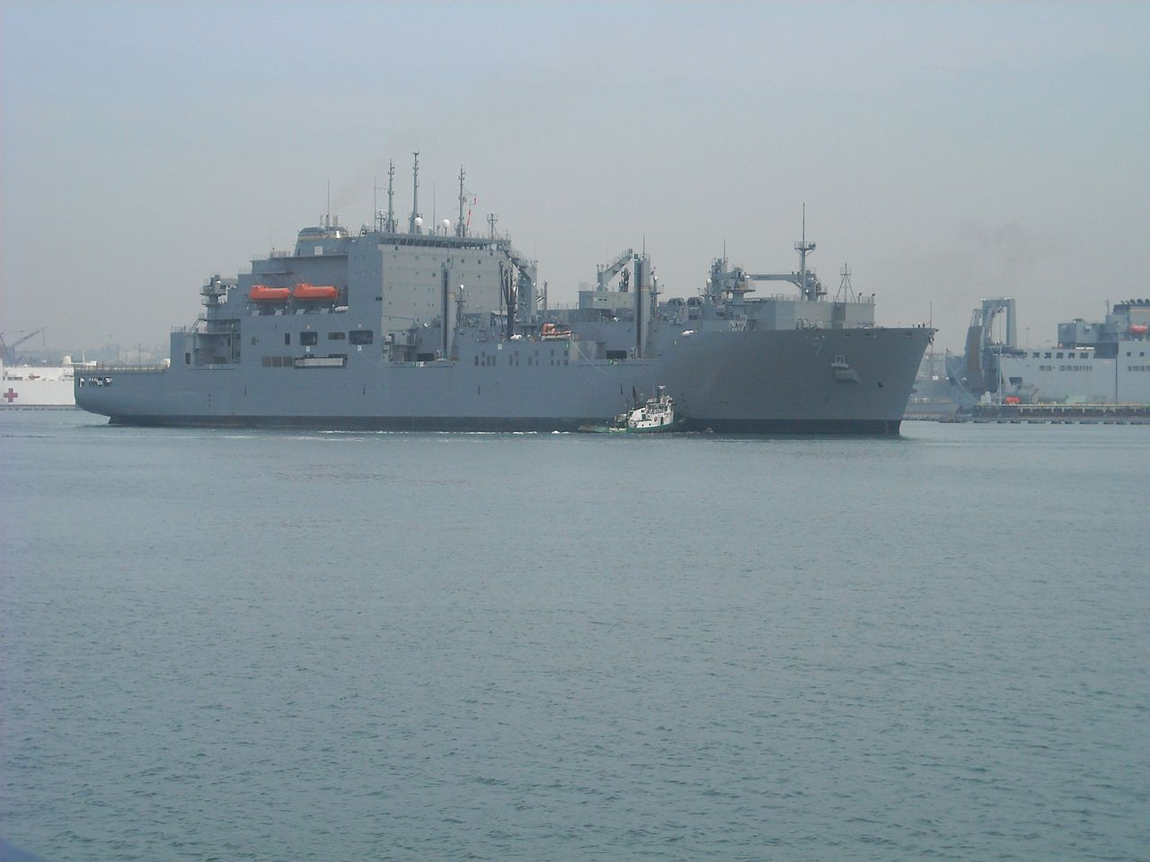 USNS Carl Brashear at ANCH-E Pier Subic Bay