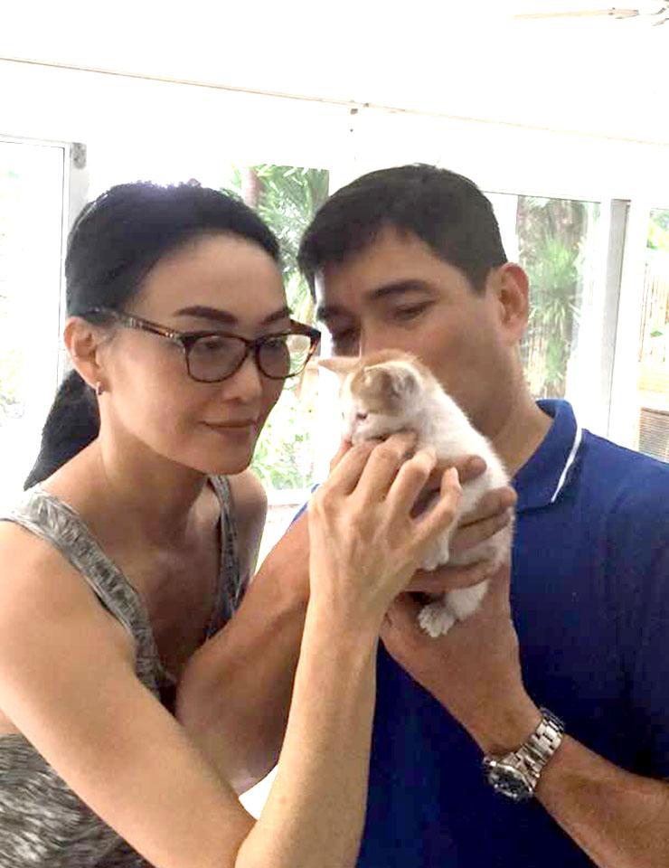 WiN Ricardo Cepeda and Marina Benipayo