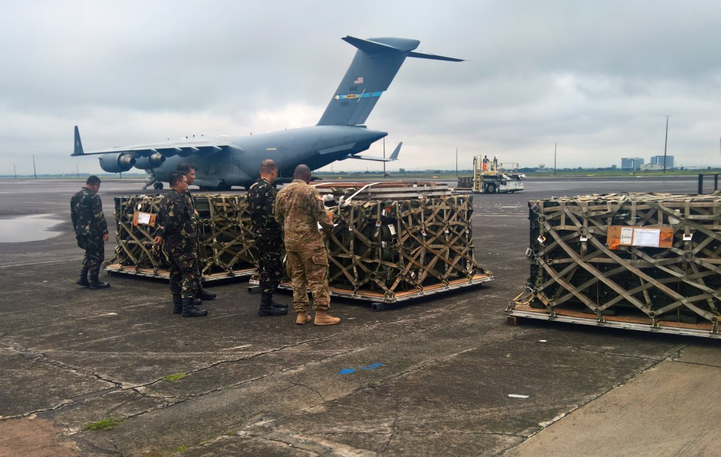 AFP Receives U.S. Weapons and Munitions to Support Counterterrorism Operations