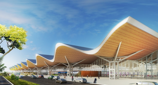 Auction for new Clark airport terminal starts
