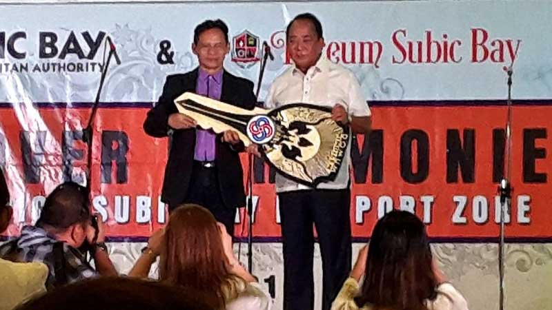AIS turn over to Lyceum of Subic Bay
