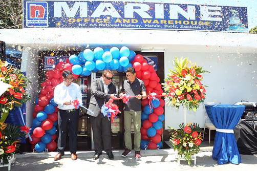 Nippon Paint Philippines, Inc. Opens Marine Paint Office and Warehouse in Subic