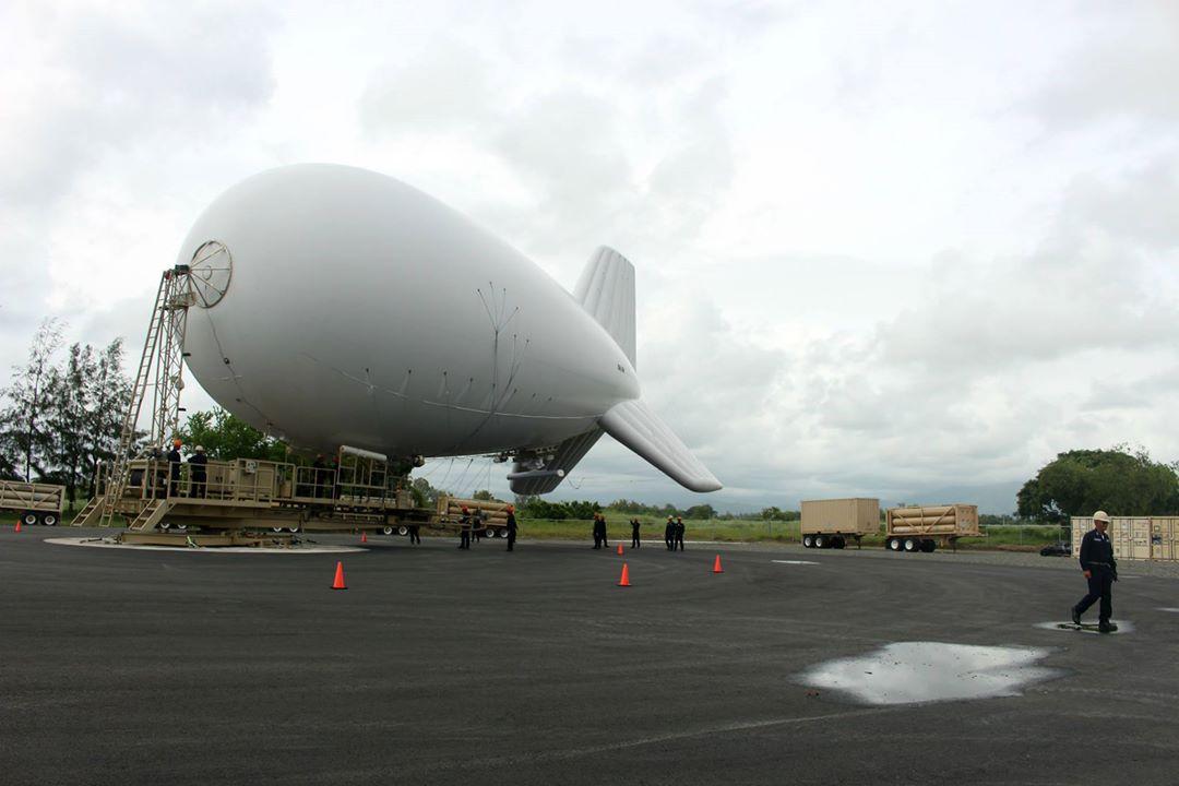 Tethered Aerostat radar system