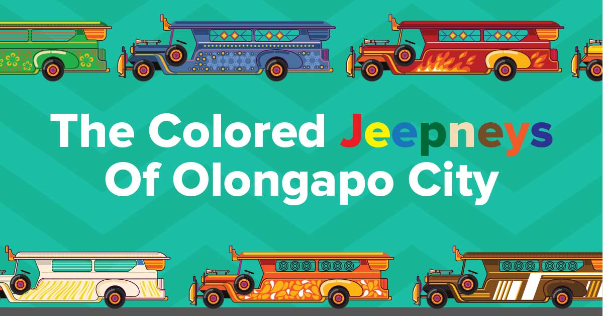 Olongapo Jeepneys Color Scheme