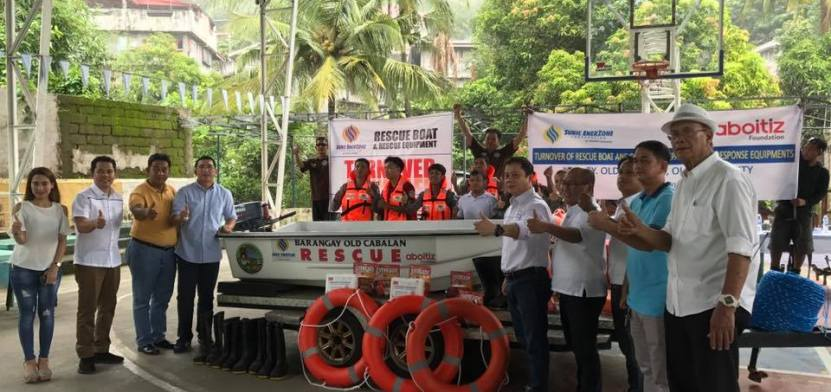 Cabalan gets rescue equipment
