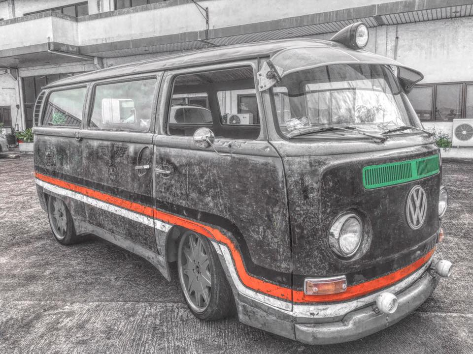 Daniel's rugged VW Kombi achieved witha combination of coke & lacquer