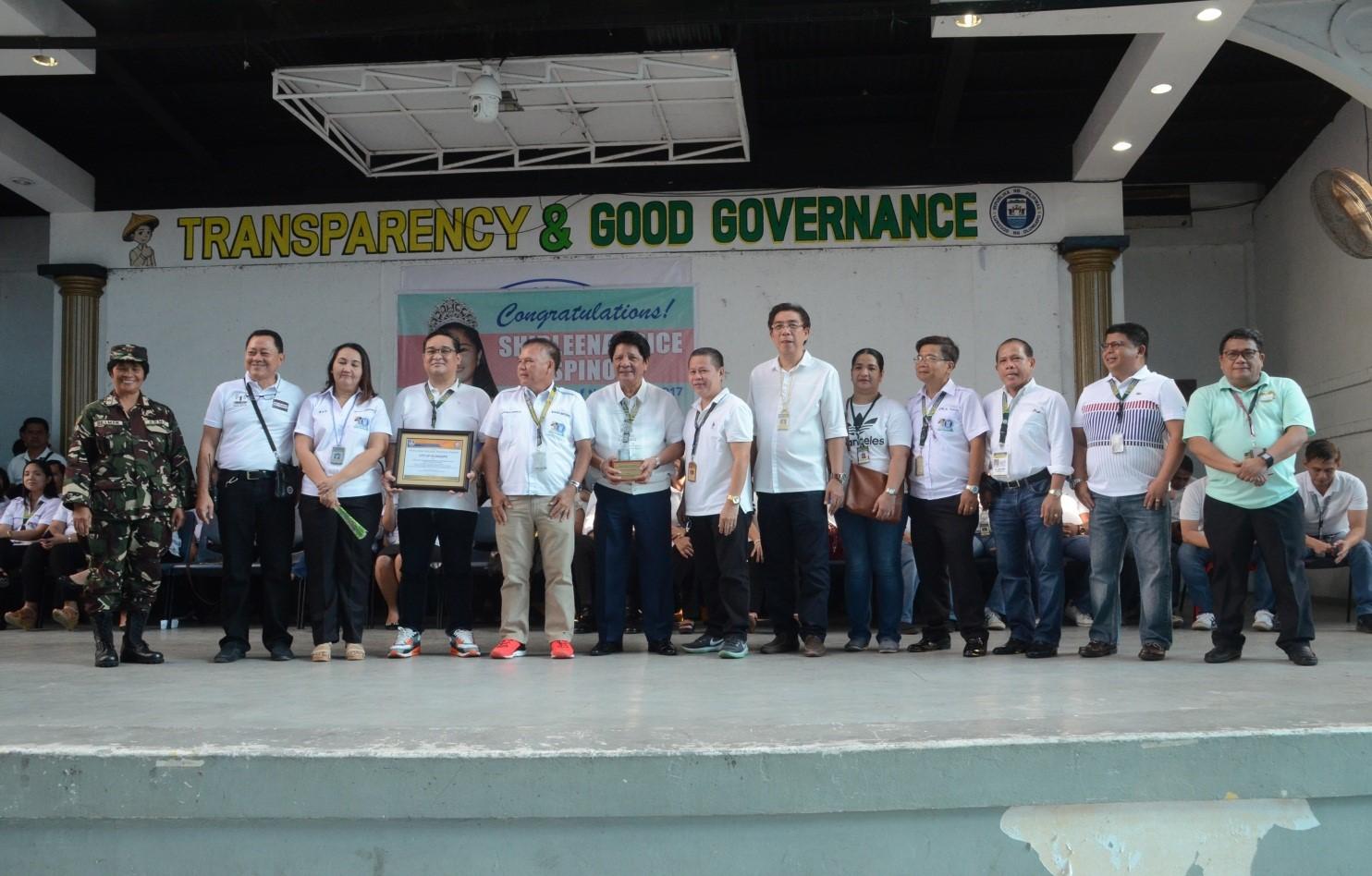 Two top Gawad Kalasag award given to Olongapo City