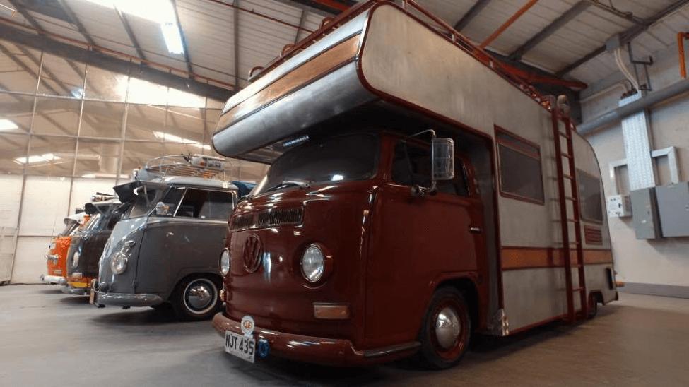 The fully-customized motorhome Kombi